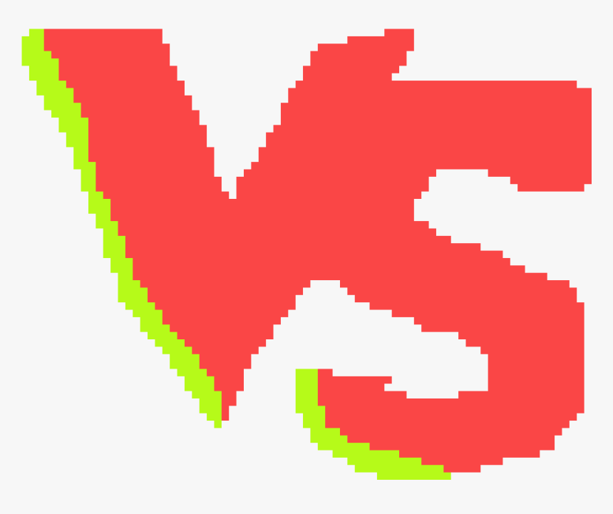 Vs Em Pixel Art, HD Png Download, Free Download