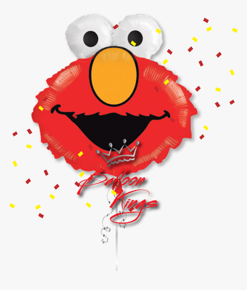Elmo Head - Sesame Street Foil Balloons Bouquet, HD Png Download, Free Download