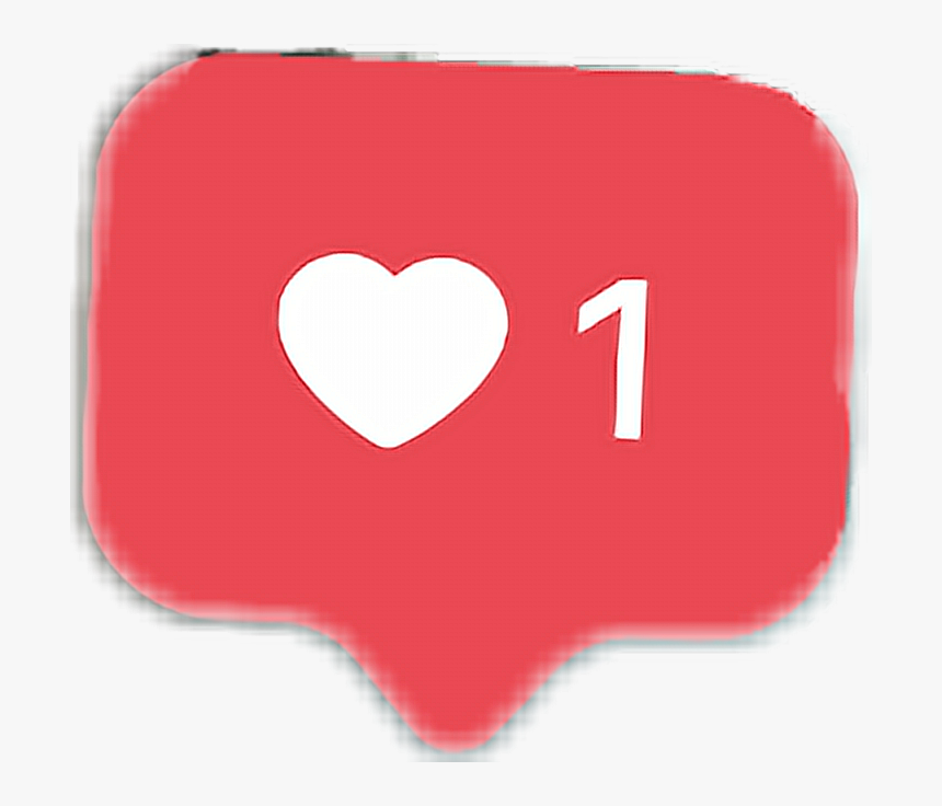 Speechbubble Like Instagram Tumblr Heart One Love Cute - Instagram Love Sticker, HD Png Download, Free Download