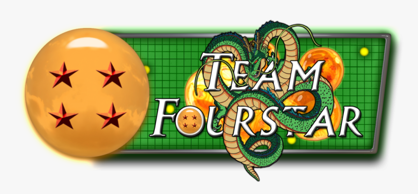 Transparent 4 Star Dragonball Png - Team Four Star, Png Download, Free Download