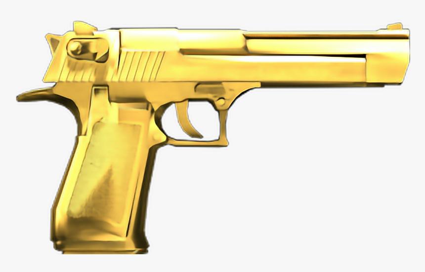 Pistol Clipart Gold Gun - Imagenes De Armas Png, Transparent Png, Free Download