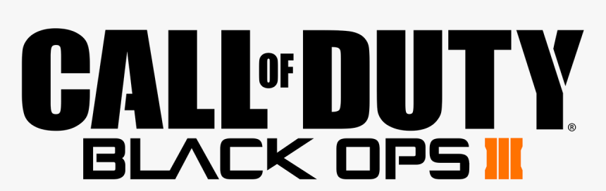 Call Of Duty Black Ops 3 Logo Png, Transparent Png, Free Download