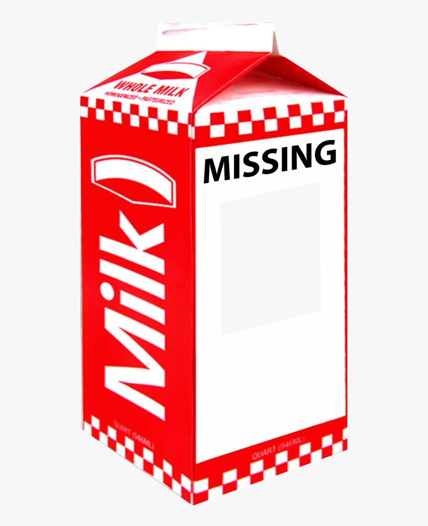 Missing Milk Carton Generator - Missing Milk Carton Blank, HD Png Download, Free Download