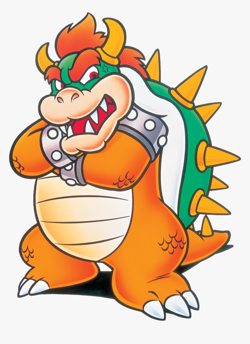 Smw Bowser Artwork - Super Mario World Bowser Png, Transparent Png, Free Download