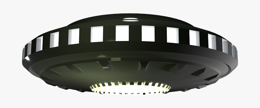 Alien Spacecraft Png Image With Transparent Background - Light, Png Download, Free Download