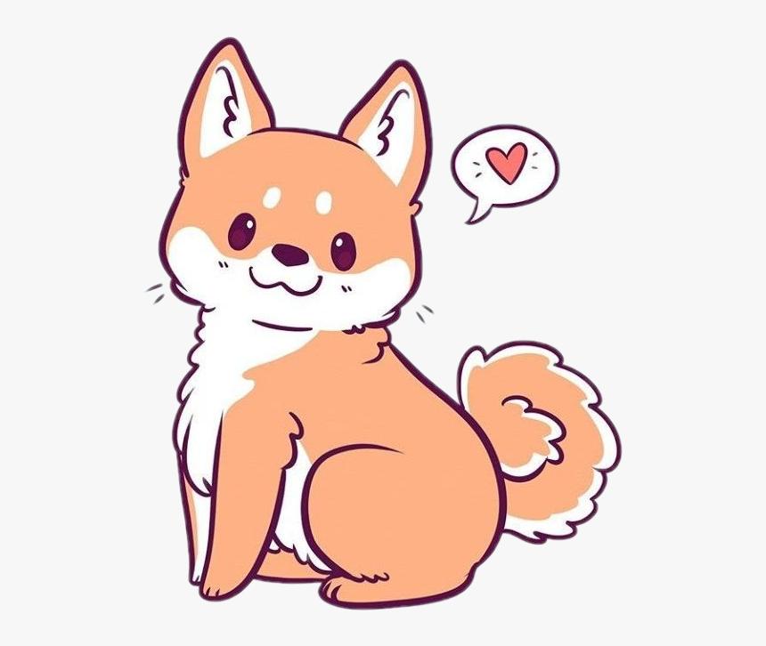 Freetoedit Cute Kawaii Fox Ginger Fur Fluffy Kawaii Cute