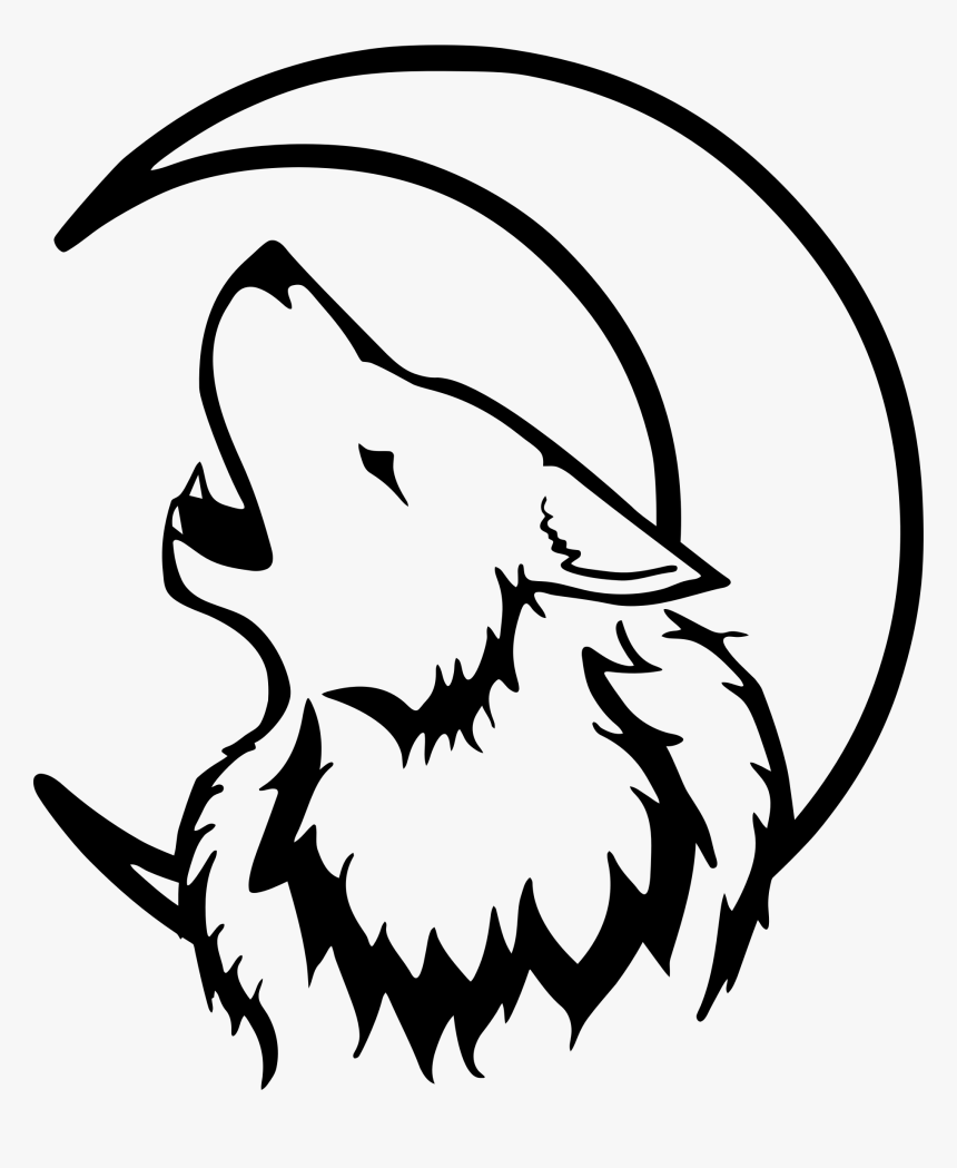 Wolf Drawing Easy Face, HD Png Download, Free Download
