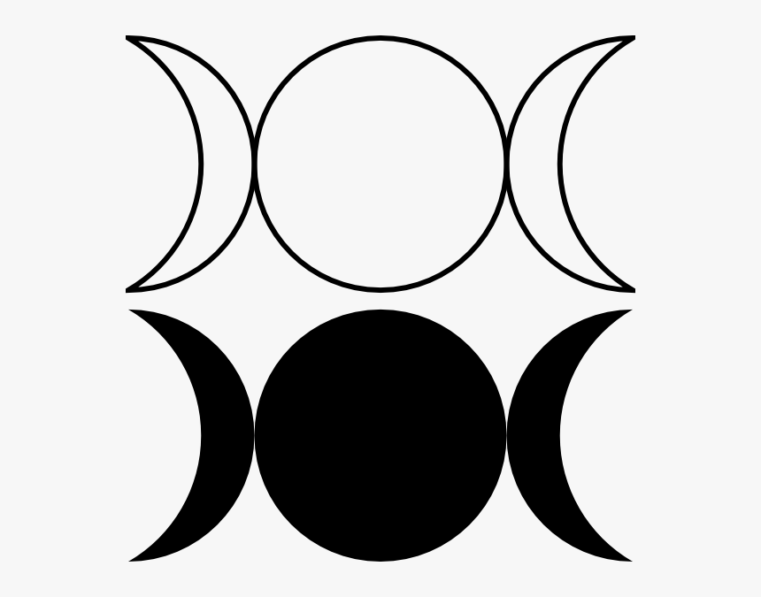 Crescent Clipart New Moon Png Library Download - Moon Phase Clip Art, Transparent Png, Free Download