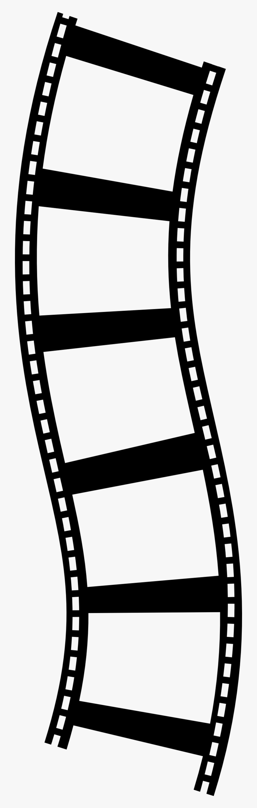 Clipart - Film Strip Clip Art, HD Png Download, Free Download