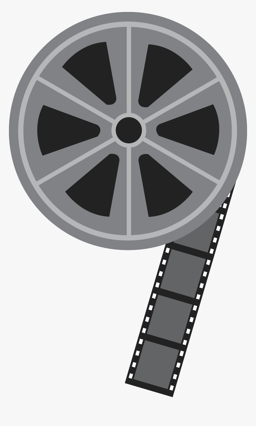 Movie Reel Clip Art 2 - Clip Art Film Reel, HD Png Download, Free Download