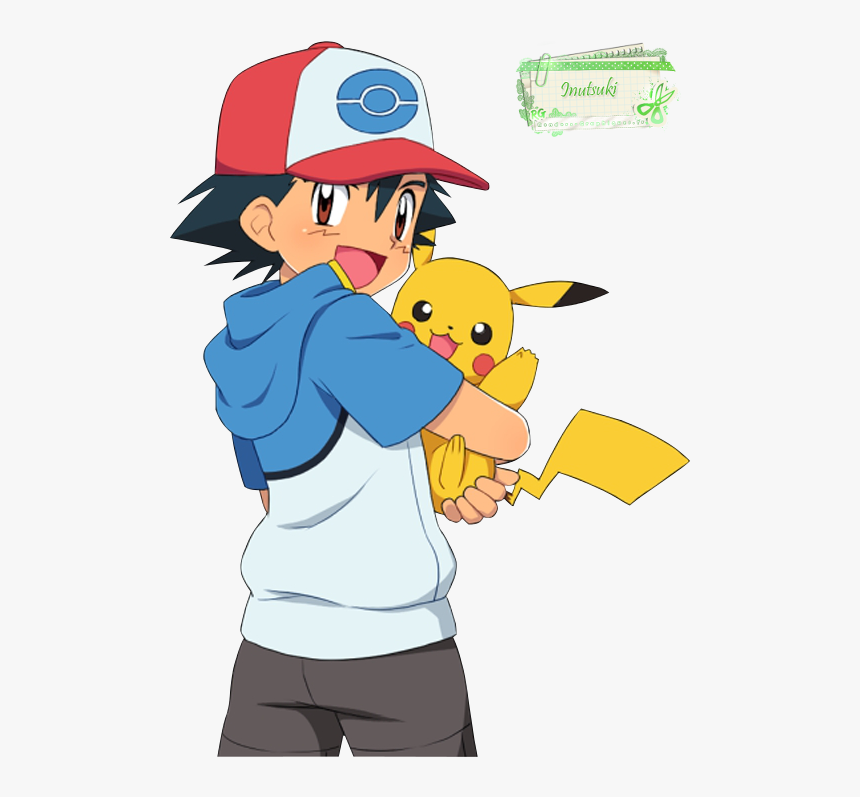 Imagenes De Pokemon Ash Y Pikachu, HD Png Download, Free Download