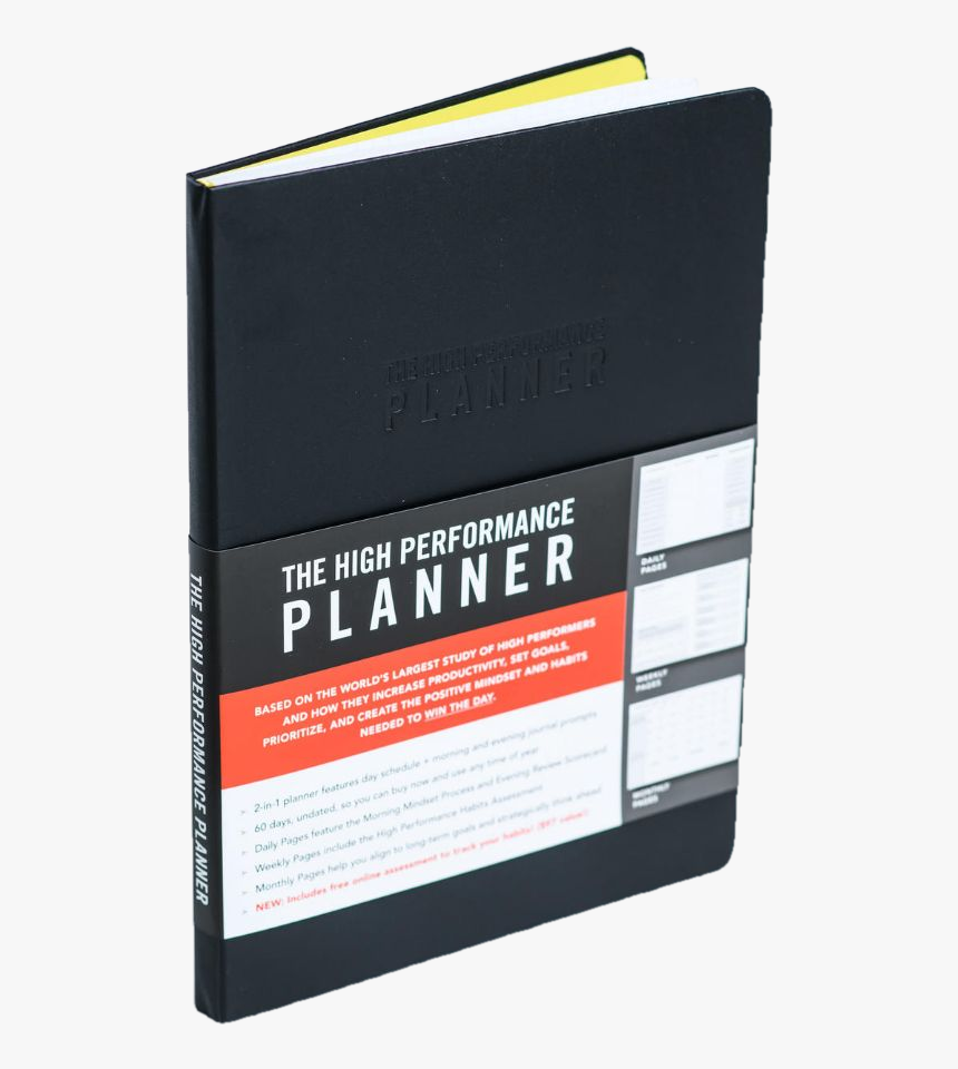 High Performance Planner Template, HD Png Download, Free Download