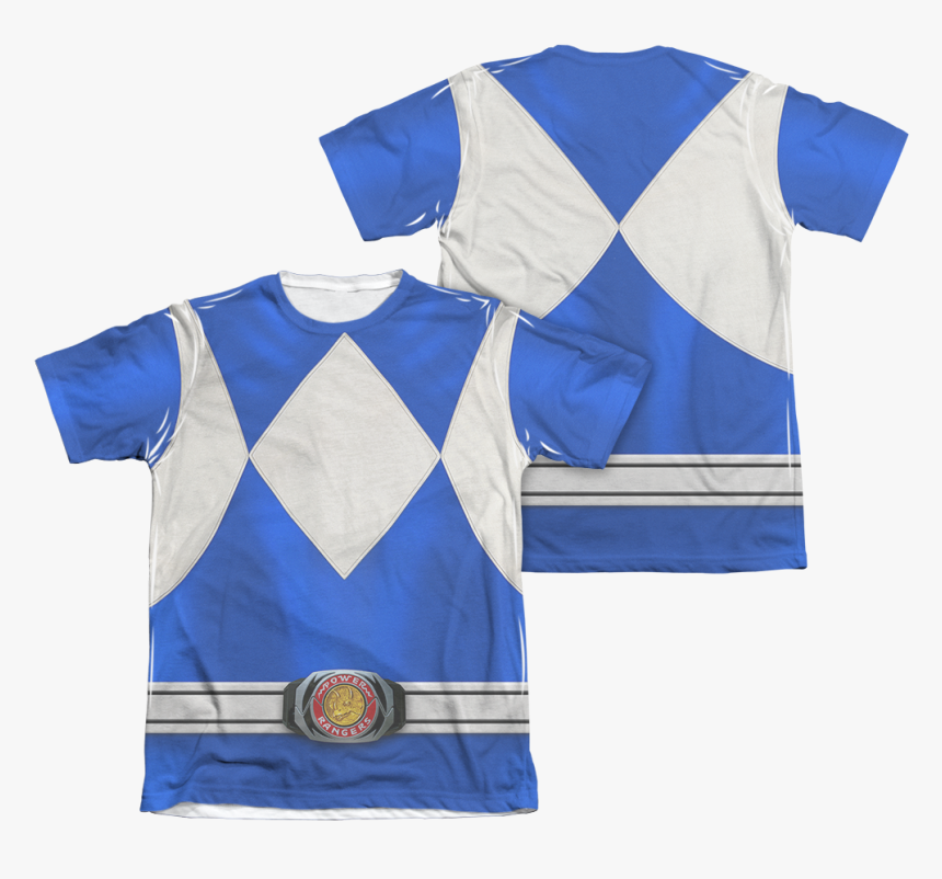 Green Mighty Morphin Power Rangers T Shirt, HD Png Download, Free Download