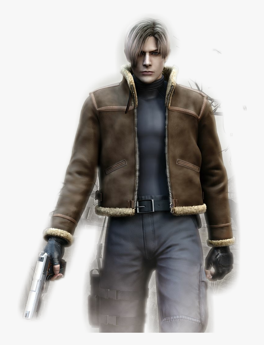 Resident Evil 4 Leon Resident Evil 4 Leon Hd Png Download Kindpng