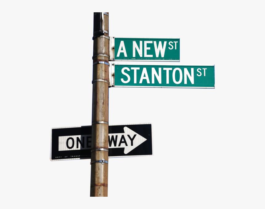 Street Sign Png - Manhattan Signs, Transparent Png, Free Download