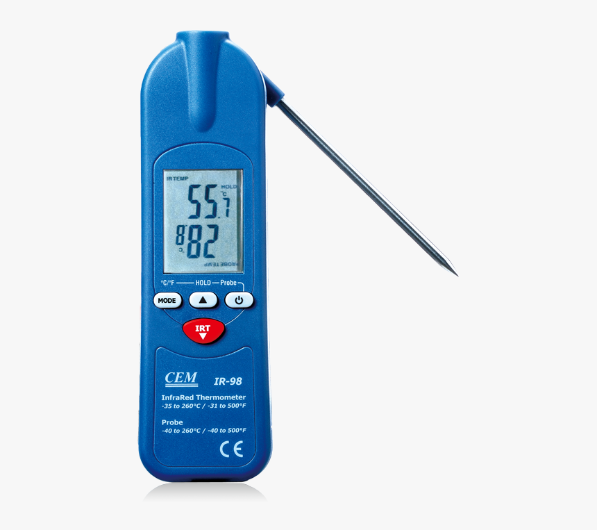 Cem Ir 99 Infrared Thermometer, HD Png Download, Free Download