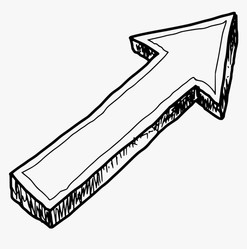 Doodle Arrow Clipart, HD Png Download, Free Download