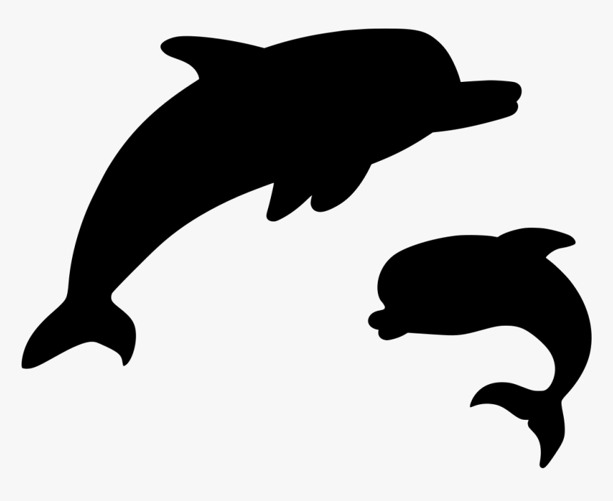 Transparent Dolphin Silhouette Png - Animal, Png Download, Free Download