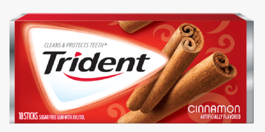 Trident Cinnamon - Trident Cinnamon Gum, HD Png Download, Free Download