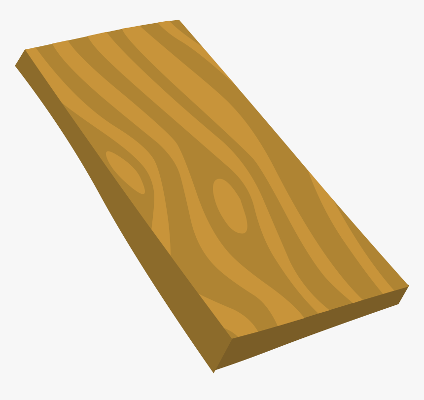 Wood Plank Lumber Clip Art - Plank Of Wood Clipart, HD Png Download, Free Download