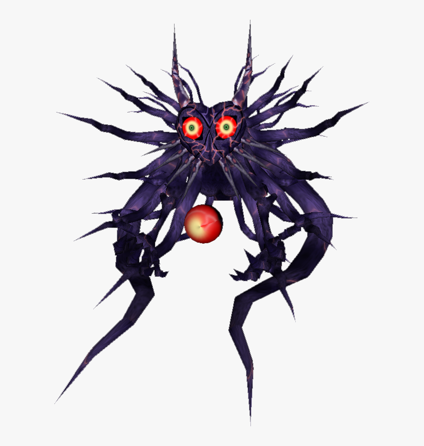 Majora - Villains Wiki - Wikia - Majora Boss , Png - Majora's Mask True Form, Transparent Png, Free Download