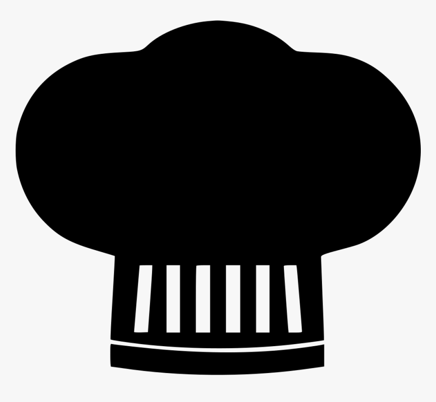 Chef Restaurant Chefhat Cap Hygiene Cooking Comments - Icono De Gorro De Chef, HD Png Download, Free Download