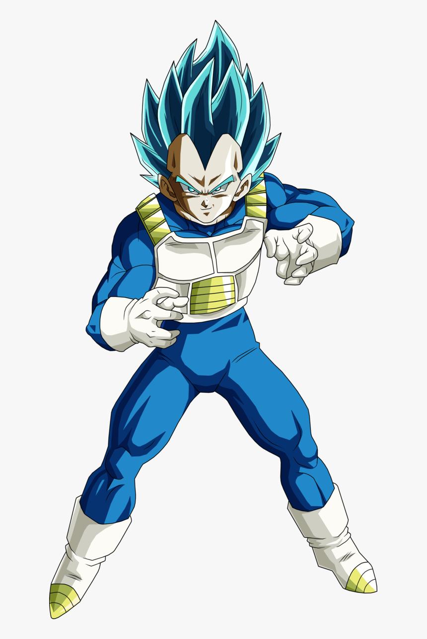 Vegeta Super Saiyan Blue By Brusselthesaiyan - Vegeta Super Saiyajin Blue, HD Png Download, Free Download