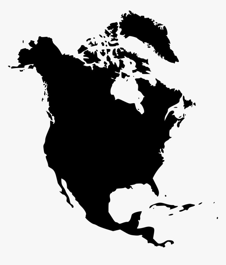 United States Canada Haiti Earth Geography Of North Black