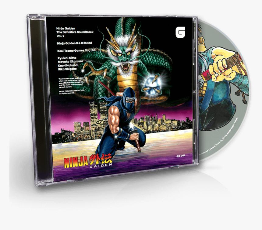 Ninja Gaiden Ii The Dark Sword Of Chaos Box Hd Png Download Kindpng