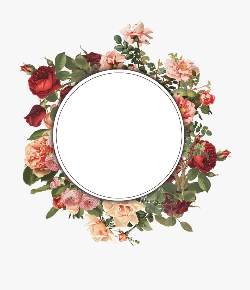 Floral Frame Png Free, Transparent Png, Free Download