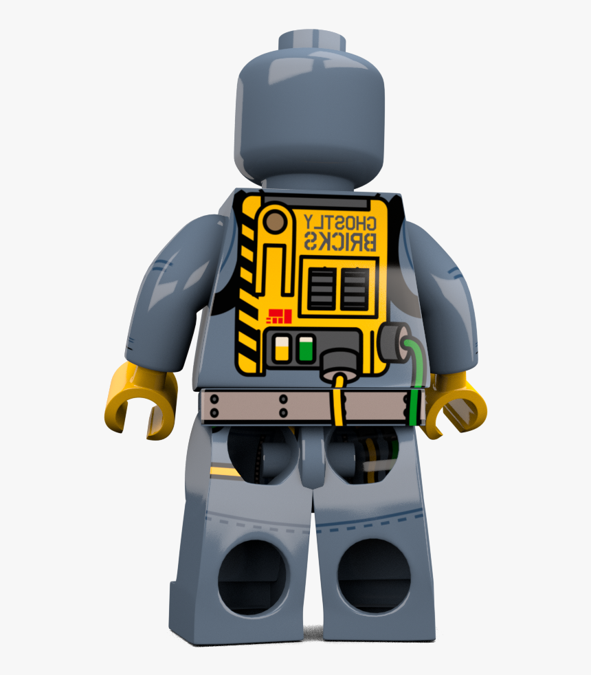 Brick Loot Exclusive Ghost Hunter Custom Lego® Minifigure - Lego, HD Png Download, Free Download