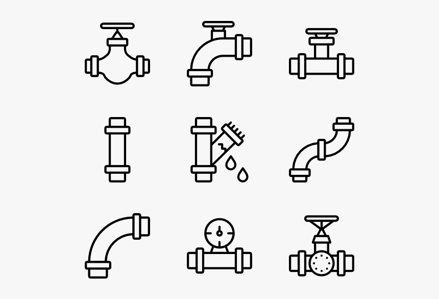 Pipe Icons Free Vector - Rock Icons, HD Png Download, Free Download