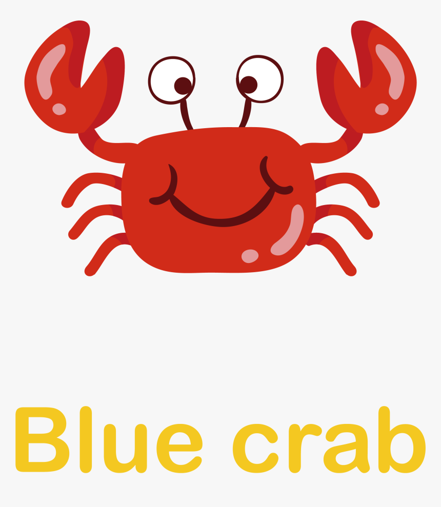 Crab Clipart Mud Crab - ปู น้อย น่า รัก, HD Png Download, Free Download