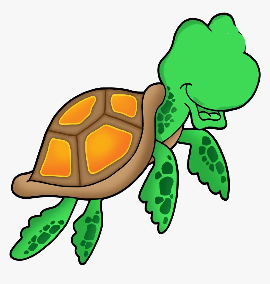Clip Art Sea Turtle - Sea Turtle Clip Art, HD Png Download, Free Download