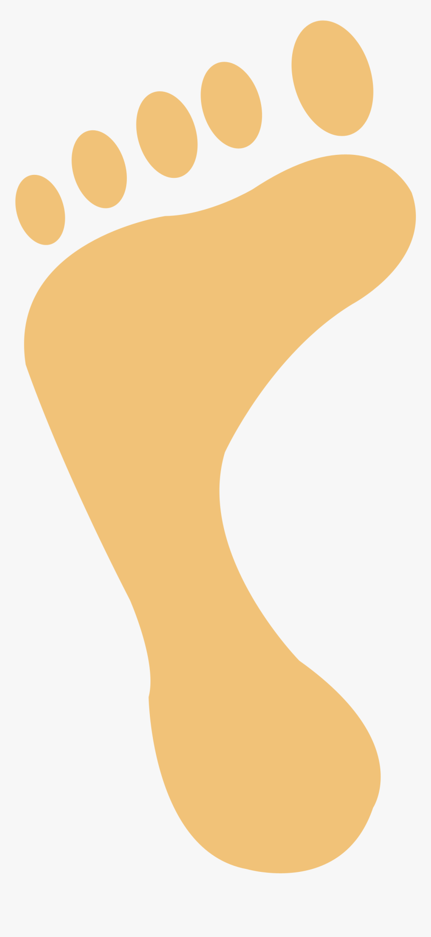 Footprints In The Beach Png, Transparent Png, Free Download