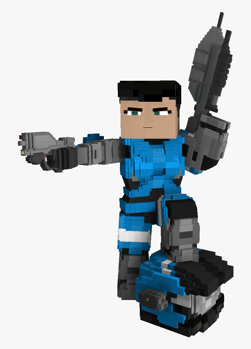 Minecraft Halo Girl Skin, HD Png Download, Free Download
