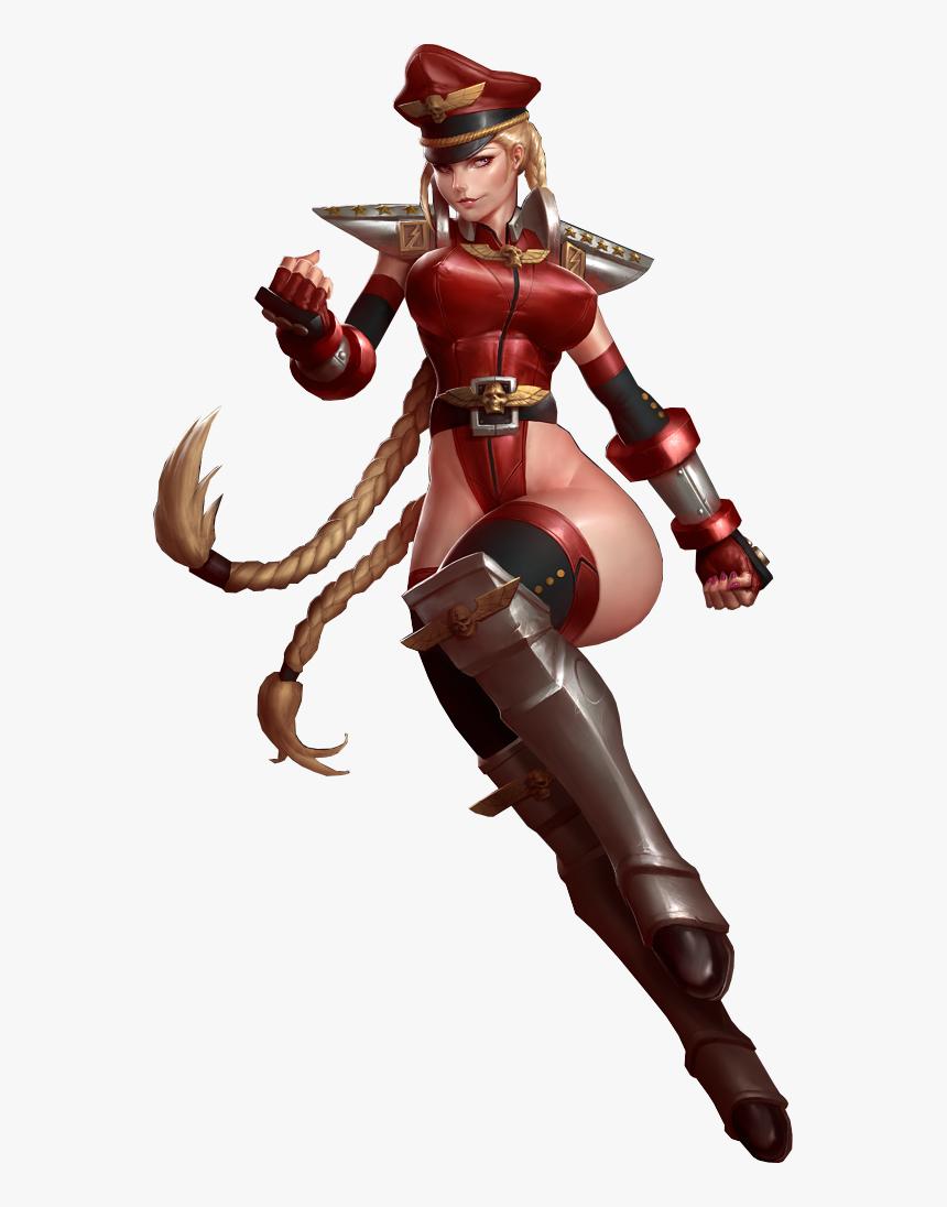 Street Fighter Cammy M Bison, HD Png Download - kindpng