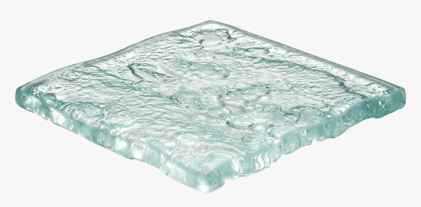 Art Glass Sample - Water Texture Glass, HD Png Download, Free Download