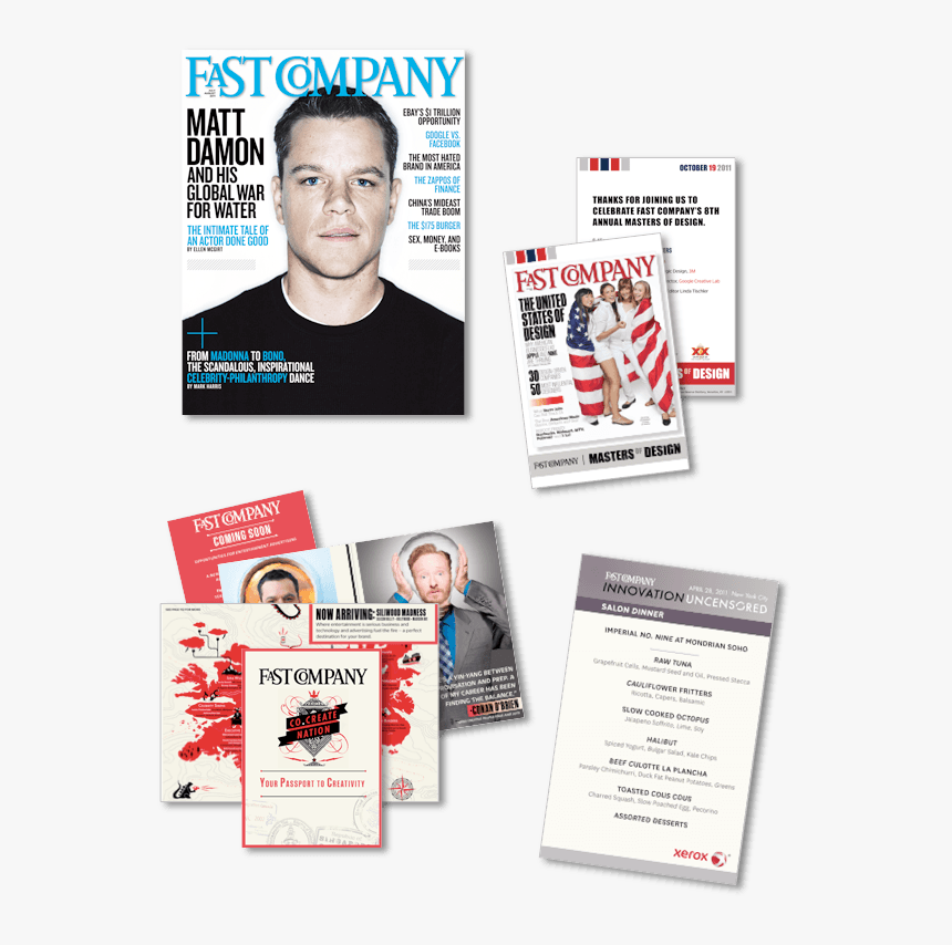 Digital Print Samples - Fast Company, HD Png Download, Free Download