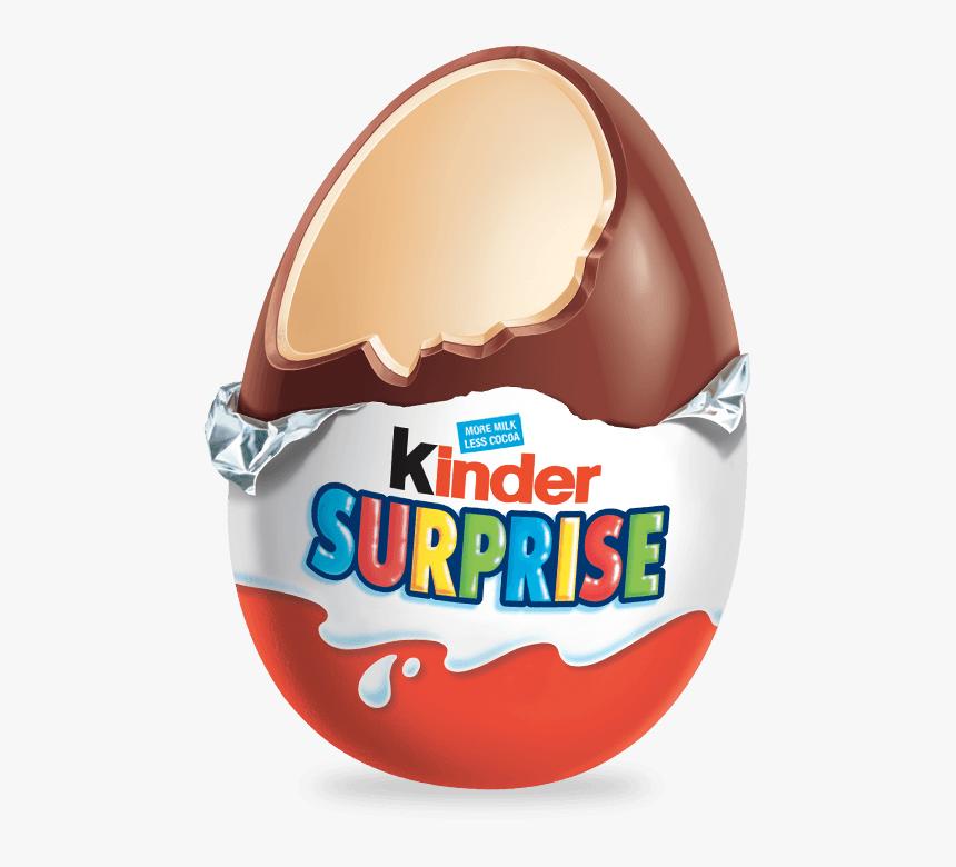 Open Kinder Surprise Egg Clip Arts - Kinder Surprise Egg Png, Transparent Png, Free Download
