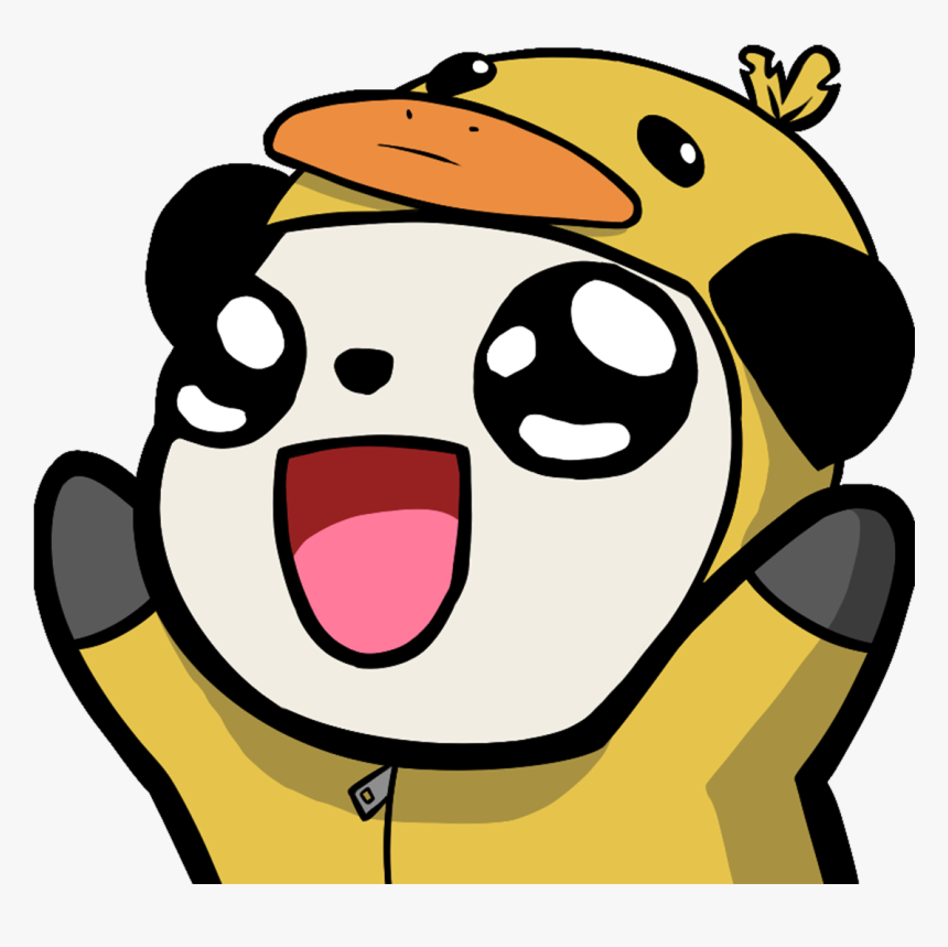 Transparent Biblethump Png - Panda Admiral Bahroo Emotes, Png Download, Free Download