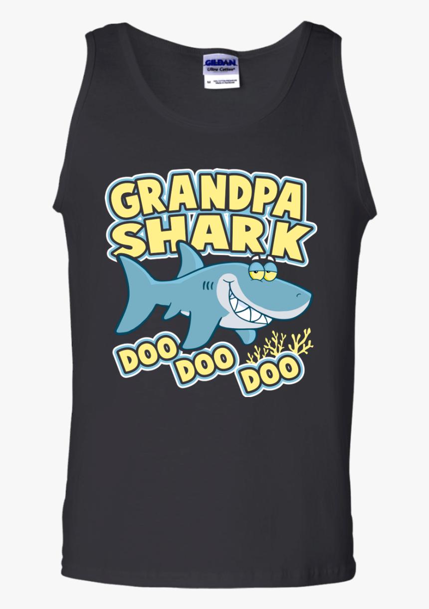 Grandpa Shark Tank Top - Active Tank, HD Png Download, Free Download