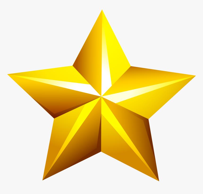 Golden Star Png - Golden Star Transparent Png, Png Download, Free Download