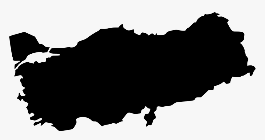 Turkey Vector Map - Turkey Map Vector Png, Transparent Png ...