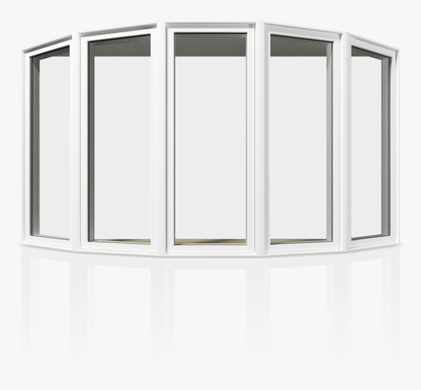 An Example Of A Bow Window - China Cabinet, HD Png Download, Free Download