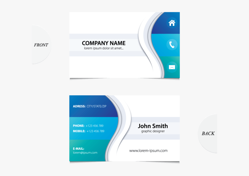 Quality Business Card Sample - Business Cards Templates Hd Download, HD Png Download, Free Download