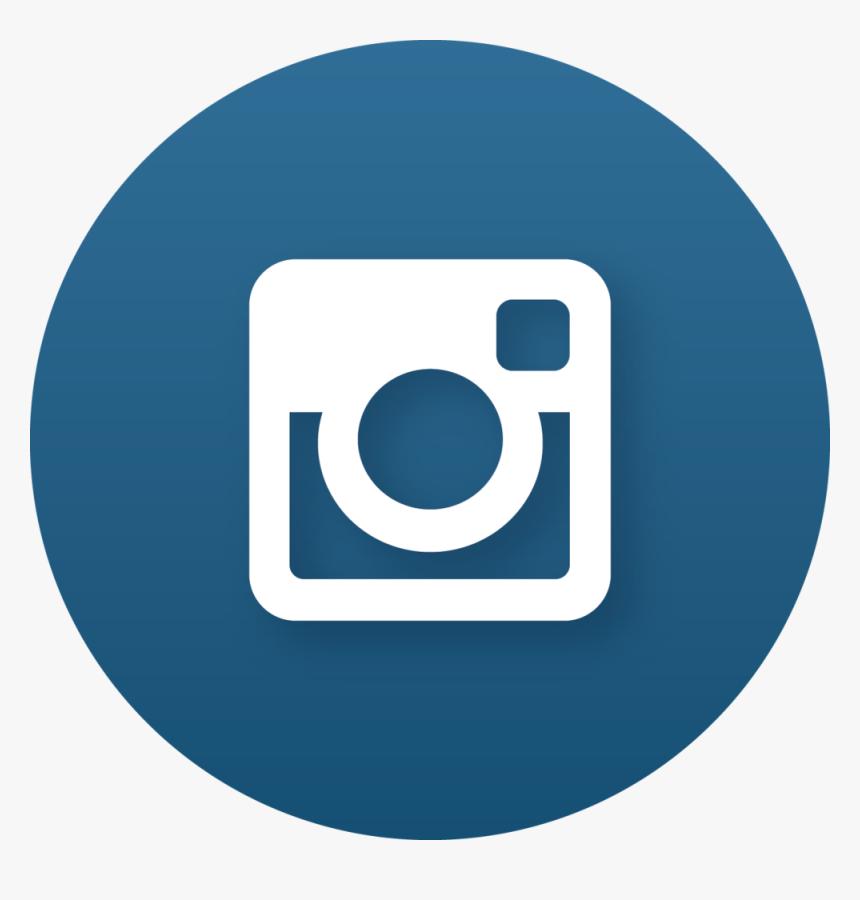 Aesthetic Instagram Logo Blue   aesthetic elegants