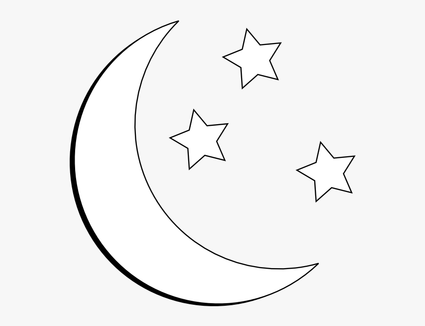 Moon And Stars Outline Clip Art At Clipart Library Moon And Star Clipart Hd Png Download Kindpng Download 14,000+ royalty free moon outline vector images. moon and stars outline clip art at