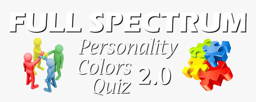 Transparent Color Spectrum Png - 4 Color Personality Results Jacob Adamo, Png Download, Free Download