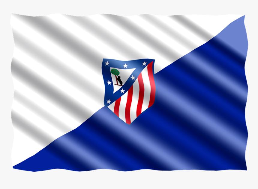 Football International Flag Spain Atletico Madrid Atletico Madrid Hd Png Download Kindpng
